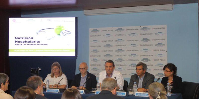 Un centenar de profesionales asisten a la I Jornada de Nutrición Hospitalaria celebrada en el Hospital de La Ribera
