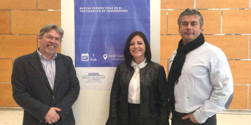El Hospital de La Ribera forma a más de 50 especialistas de toda la Comunidad Valenciana en cirugía de hemorroides